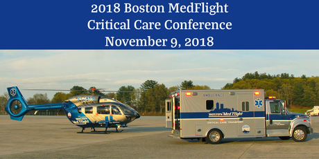 2018 Boston Medflight Critical Care Conference Image